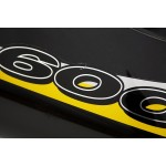 Fairing Rear GSX-R600 SRAD 1999 Black / Yellow