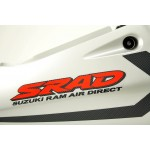 Fairing Rear GSX-R750 SRAD 1998 Grey / Red