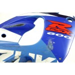 Fairing Side right GSX-R600 SRAD 1998 Blue / White / Red