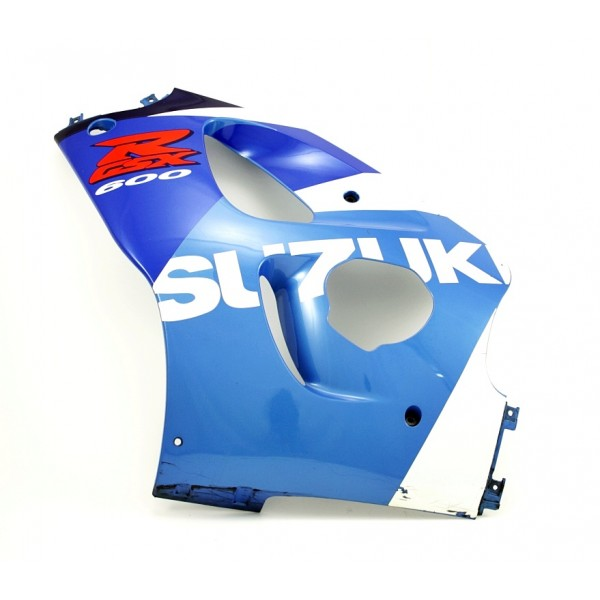 Fairing Side left GSX-R600 SRAD 1998 Blue / White / Red
