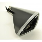 Exhaust Cover GSX1300 B-KING Black