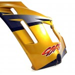 Fairing Side left GSX600F 1997 Yellow / Grey / Black / Orange