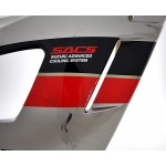 Fairing Side right GSX600F 1989 Grey / Black / Red