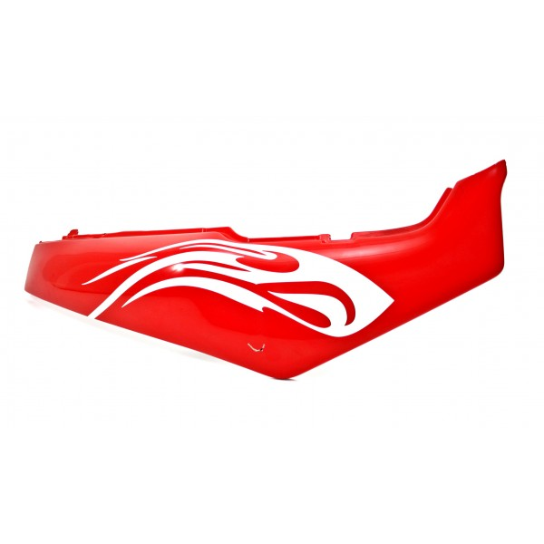 Fairing Rear right GSX-R 750/1100 Red / White