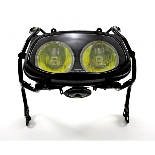 Headlight Including upper frame GSX-R1100 1991 Black