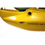 Fairing Rear GSF600S BANDIT 2003 Yellow / Grey