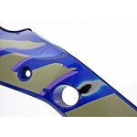 Fairing Side left GSX600F 1993 Blue / Grey / Purple