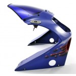 Fairing Upper GSX-R750 1991 Purple