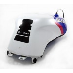 Gas Tank GSX-R750 1992 White / Blue