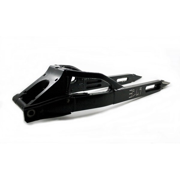 Swingarm Extended Arrow Shape and Yoshimura Engraving  GSXR 1000 Black
